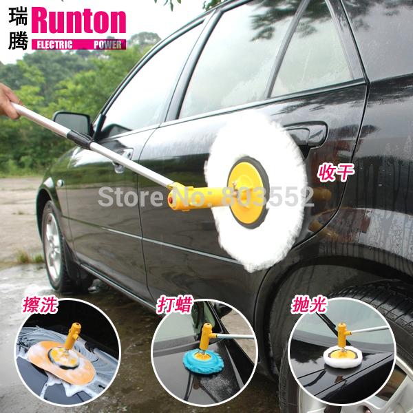 Electric car wash device washing machine 12v household high pressure 12v portable waxing machine polishing machine(China (Mainland))