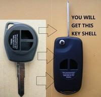 Car Keys Fob SwitchBlade Key Flip Case for Suzuki SX 4 SX4 Swift Remote