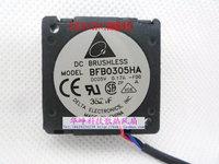 100% New Delta 5v 0.17a bfb0305ha 3cm projector worm gear fan drum fan