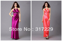 New Fashion Woman Sexy Slim Long Backless Evening Party Dress Prom Formal Gowns Nightclub Dress LF028