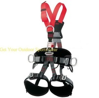 Outdoor Sport Gear Fall Protection Work Position Full Body Climbing Harness