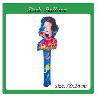 free shipping 100pcs/lot wholesales clapper balloon  Party balloon average size:78cmx25cm