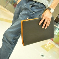 Boyfrined gift 2013 free shipping  day clutch envelope bag fashion business paper  file bags