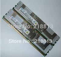 Server memory 4GB 2x 2GB DDR2 Fully Buffered 667 MHZ PC2-5300 FBD REG ECC compatible M600/R900/R5400/ X3550/X3650/DL380 G5