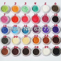 2014 New Hot 60 Colors Makeup Cosmetic Eye Shadow Shining Powder Pigment Colorful Mineral Eyeshadow Gift Free Shipping