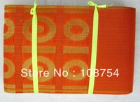 African scarf,GELE, wedding headtie, embroidery, wholesale,Free Shipping, One package 18yards, AH10-3 orange