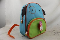 Topsale Cute Zoo dog Cartoon  School Bags Mini Oxford Canvas Backpack Gift for Children school Kids
