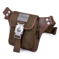 2013 canvas waist pack man bag small waist pack male shoulder bag messenger bag casual bag fashion