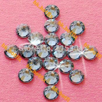 GENUINE Swarovski Elements ss16 Blue Shade ( 001 BLSH ) 720 Iron on 16ss Hot-fix Flatback Crystal 2038 Hotfix rhinestones Glass