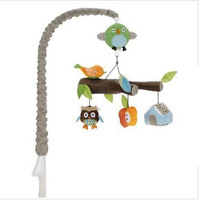 High Qualiy Animal Tree baby Play Toy,newborn infant toys,Cloth baby music rotating mobile, hanging Baby Bed Rattle Crib Mobile