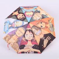 Free Shipping Umbrella sun umbrella sun protection umbrella folding