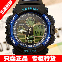 Child watch boy led multifunctional sports waterproof electronic watch male child student table