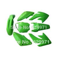 Plastic Kit   CRF70 fender moto dirt pit bike Green