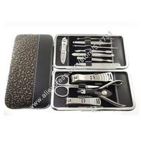 Free Shipping  12pcs per set high quality manciure pedicure set,nail care set