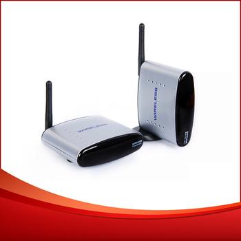 2.4G Wireless A/V audio video AV TV sender Transmitter Receiver 150m free shipping DHL 5pcs/lot