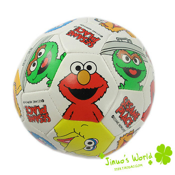 Sesame Street Dora Doll Rubber Ball Soft Ball Football 10cm Diameter Baby Sports Player Toys For Body Training