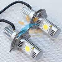 Free shipping 6000K 1800LM 25W Car H4 CREE LED Headlight kit High and Low Beam LED Head lamp CREE-1512 LED Chip