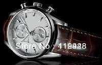 Luxury Mens The Tag CAL 1887 Calibre 16 brown leather Automatic Limited Ed automaticHigh Quality men's Watches