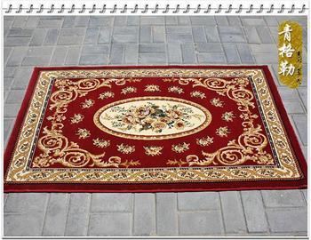 Hotel Carpet 30r red bed rug corridor carpet beautiful pattern 80 150  wholesale