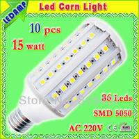 led corn e27 15w ac 220v light bulb _ 86 leds 5050 smd 1500 lumen led bulb light warm / white