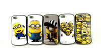5pcs/lot Cheap Wholesale Cute Cartoon Despicable Me Minions Soft TPU Cases Cover For Apple Iphone 4 4G 4S 5 5G,Free Shipping