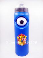 Blue Spain Cycling Water Bottle Jug 25oz 750ml Bike Bicycle Hiking Camping Outdoor Sports