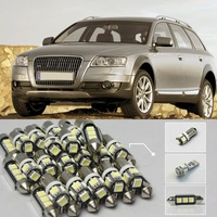 15xWhite Canbus Led Interior Light Kit For 2005-2011 Audi A6 S6 (C6) (64)