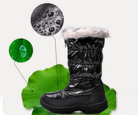 2013 winter children's boots waterproof snow girl shoes kids winter boots boy mid-calf free shipping