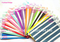 "14 Colors Mix Vertical Stripe 1400pcs  5""x7"" (12.7cm x 17.7cm) Party Supplies party favor Bags Candy Paper Goods Bag kraft bags"