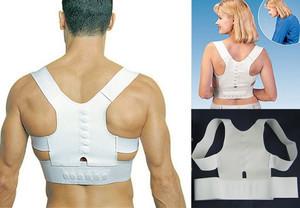 Adjustable Unisex Magnetic Posture Back Shoulder Corrector Support Brace Belt(China (Mainland))