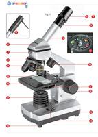 Bresser digital microscope computer child day gift usb
