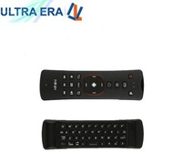 Free Shipping 1pc/lot minix NEO A2 2.4G Wireless keyboard air fly  Mouse with Speaker& Microphone for skype for minix neo x7