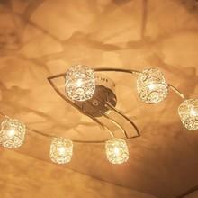 Free shipping 20W G4 Aluminum S Type Flush Mount Light chandelier 110v 220v