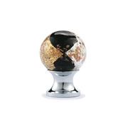New European rural Furniture Handle High Grade Closet  Knobs Coloured glaze& Brass Drawer pull  Free shipping