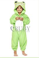 Unisex Children's Costumes Kids Fashion Cosplay Onesies Animal Pajamas Christmas Gift Child Cute Frog Cartoon Animal Pyjamas