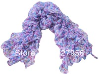 2013  Autumn, Spring season1 Pieces Printed Polyester Long  Scarf Size:50x200cm