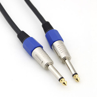 BIQIO K635-6296 6.35 microphone cable audio cable 1.5M brand new stereo audio cord wholesale