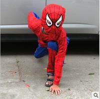 free shipping Halloween child clothes straitest clothes child super man loading set