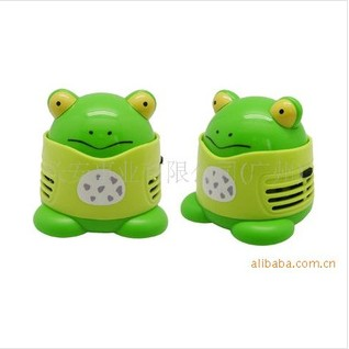 Free shipping Animal style mini vacuum cleaner auto supplies desktop gift decoration(China (Mainland))