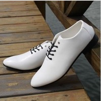 2013 Fall New England men's fashion casual shoes size 39-44 business car pointed men's shoes  A253