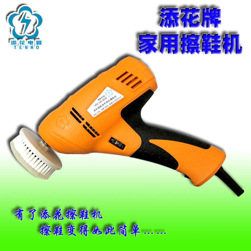 Free shipping Electric shoe polisher wreath mini shoe polisher shoe polisher portable(China (Mainland))