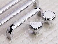 Free Freight 5 pieces/lot Single Knob glass door lock zinc alloy with Silver plated Round Shape door handles door handle crystal