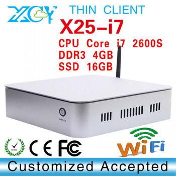 Custom Computers htpc computer case XCY X25-I7 SSD 16GB Hard Drive Capacity high performance