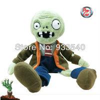 50cm 20inch Popcap Authorization Plant Vs zombie Large Size Zombie Plush Toy Doll,1pcs