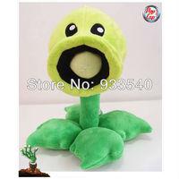 30cm 12inch Popcap Authorization Plant Vs zombie Peashooter Plush Toy Doll,1pcs