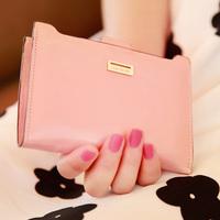 Wallets Isn't 2013 fashion plug-in women's short design wallet wallet