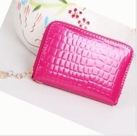 Wallets Women's wallet 2013 female short design zipper clutch mobile phone bag coin purse short design wallet