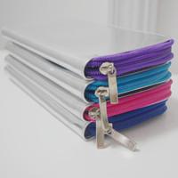 Wallets Fashion vintage silver 2013 neon color block zipper wallet