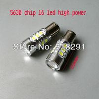 The best quality high brightness Free shipping LED  5630  16 SMD car   turn brake signal  light 1156 1157  ba15s bulb9-24V
