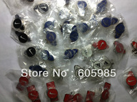 5 pcs Golf Ball Marker with Hat Cap Clip Ellipse shape or Square plate Magnetic Free shipping